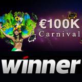 €100K Karneval - Winner Poker Forfremmelse
