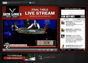 2011 WSOP live stream World Series of Poker