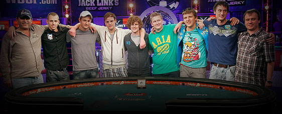 World Series of Poker Main Event November Nine, fangen die letzte WSOP 2011 Live auf ESPN