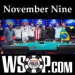 2014 WSOP November Nine Finaltisch