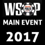 2017 WSOP Main Event Dia 1 Atualizações