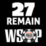 2017 WSOP Main Event Day Six - 27 Players Left