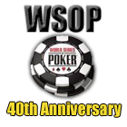 WSOP 2009 Payout & November nine