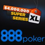 888 Poker Super XL 2016 tidsplan