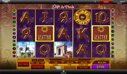 Cafe de Paris Slot - Play for Free in Your Web Browser