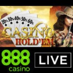 888 Casino Live Casino Hold'em Bordene