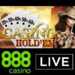 888 Casino Live Casino Hold'em Nyt Spil