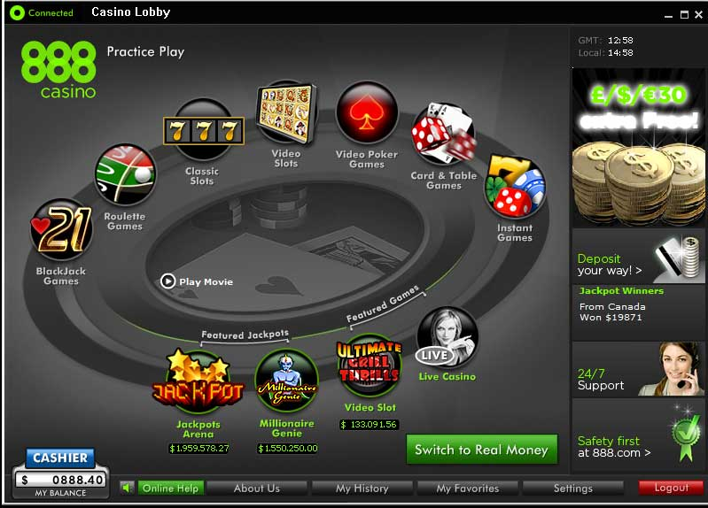 Casino pc games list
