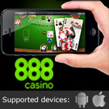 Jeux de 888 Casino Mobile