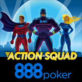 888 Poker Action Squad Turneringar