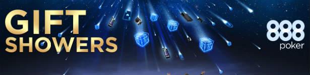 888 Poker Gift Showers - All-in Gift Tournament - 888Poker