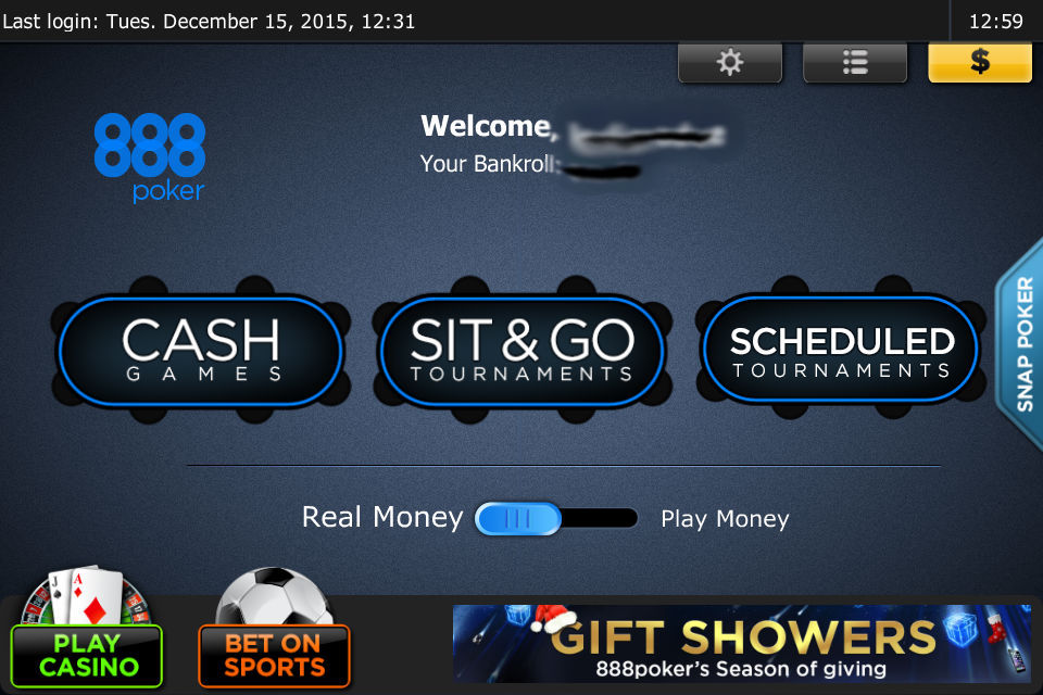 888 Poker App Improvements