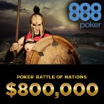 888 Poker Battle of Nations Gratis Turnering