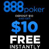 888 Poker Deposit 10 erhalten 10