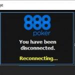 888 Poker di Nuovo - Problemi Rete