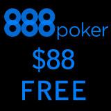 888Poker Gratuit Bonus de $88