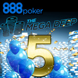 Mega Deep Turnering Specialudgave 888 Poker