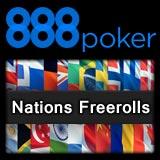 888 poker nations freerolls