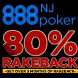 80 rakeback 888 poker