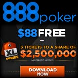 888 poker tournament series super xl