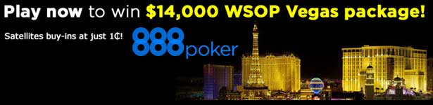 2014 WSOP Satellites - 888 Poker