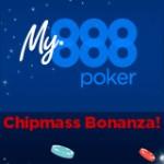 Chipmass Bonanza Torneios - 888poker