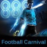 888 Poker Fotball Carnival