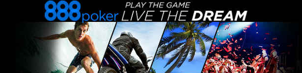 Play the 888 Poker Live the Dream freeroll tournaments and win a dream package for free, choose from a wide selection of packages from 888Poker.