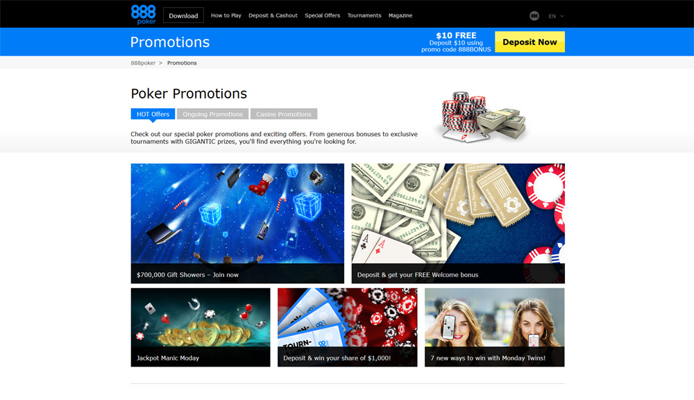 888 poker official site