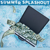 Summer SplashOut Torneios - 888poker