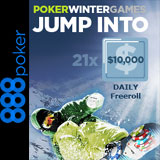 888 poker winter games freerolls