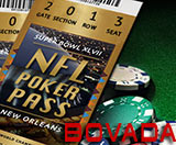 Bovada NFL Poker Pass Freeroll