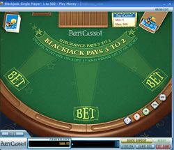 PartyCasino BlackJack vs 888 Casino