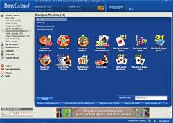 PartyCasino vs 888 Casino lobby