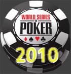 WSOP 2010 largura cronograma
