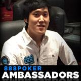 Akira Ohyama Equipe 888poker Embaixador