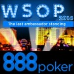 888 Poker Ambassadør i 2014 WSOP Main Event
