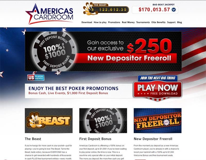 americas poker room
