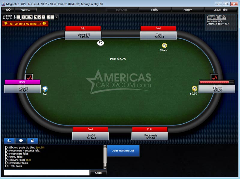 americas poker room review