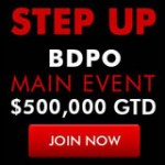 BDPO Main Event Tournoi Bodog Poker