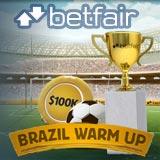 betfair poker brazil warm up