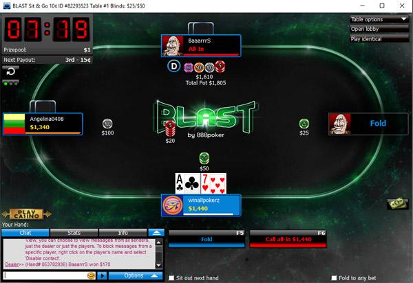 póquer explosão
