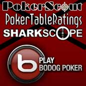 bodogpoker pokerscout pokertableratings sharkscope