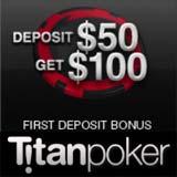 bonus titan poker