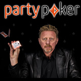 boris becker heads-up party poker