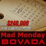 bovada mad monday-turniere