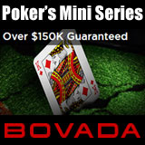 bovada poker mini series