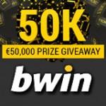 Promoções do Bwin Casino €50K Prêmio