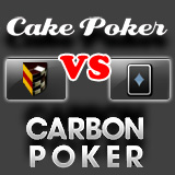cake poker vs carbon poker