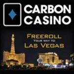 CarbonCasino Freeroll - Voyage à Las Vegas